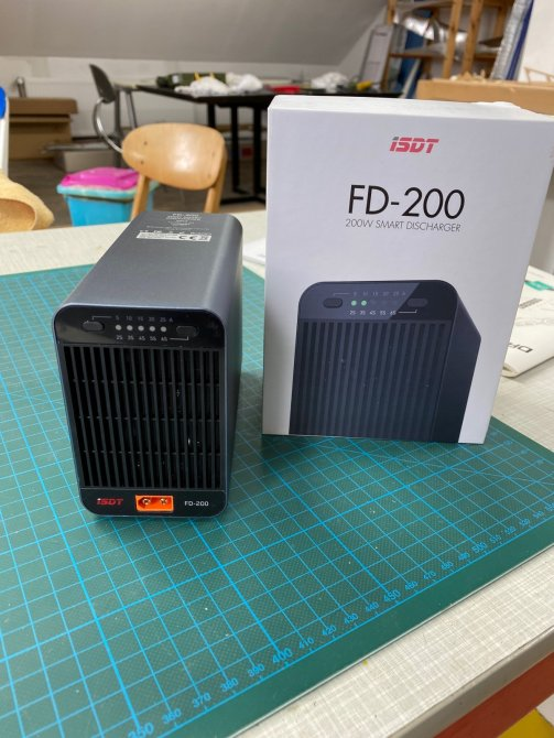 ISDT FD-200 Entlader/Entladegerät