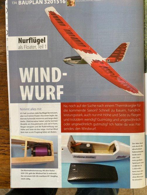 Windwurf von Wolfgang Werling in der FMT